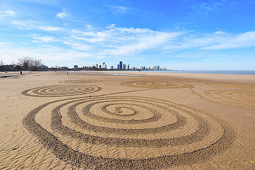 Sandy Crop Circles @ Montrose by Eric Formato
