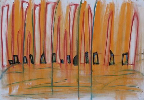 Sand dance by Stefan Hermannsson