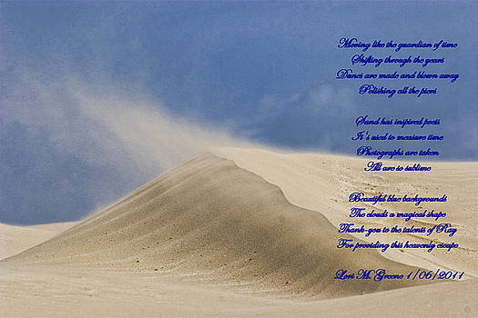 Sand Dune and Verse by Ray Keeling