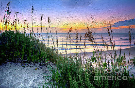 Dan Carmichael - Sand Dune Sunrise on the Outer Banks AP