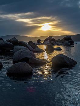 Sand Harbor Light by Martin Gollery