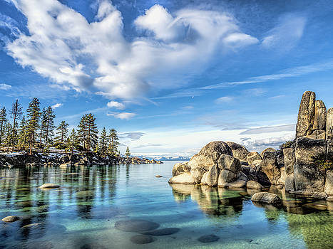 Sand Harbor Morning by Martin Gollery