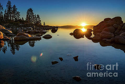 Jamie Pham - Sand Harbor Sunset