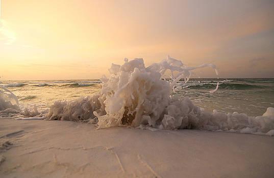 Sand Splash by Jim Clark