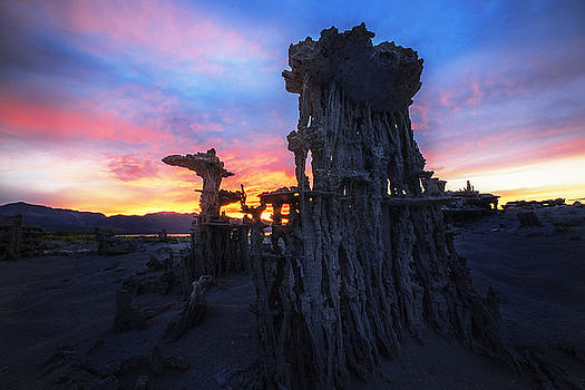 Sand Temples by Justin Lowery