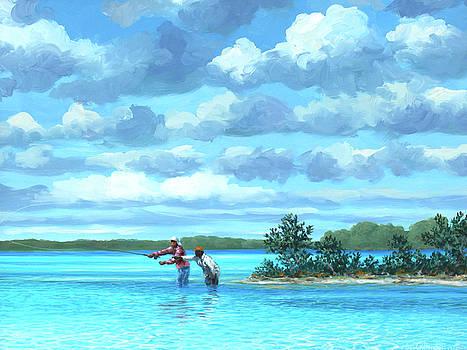 Sandbar Channel by Guy Crittenden