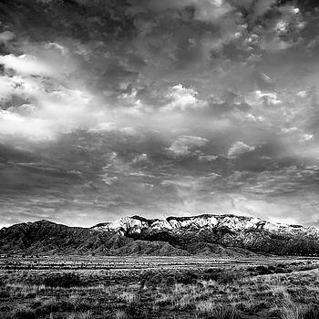 Sandia Mountains by Howard Holley