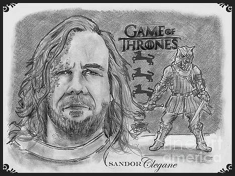 Sandor Clegane- The Hound by Chris  DelVecchio