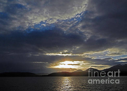 Cindy Murphy - NightVisions  - Sandpoint ID sunset