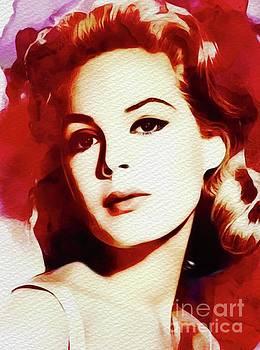 John Springfield - Sandra Dee, Vintage Movie Star