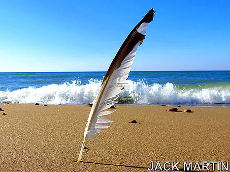 Sands and Time Waves and Dreams of Lake Michigan by Jack Martin