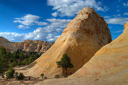 Sandstone Dome by Jeff Clay