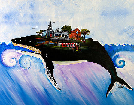 Sandwich - A Whale of a Town by Theresa LaBrecque