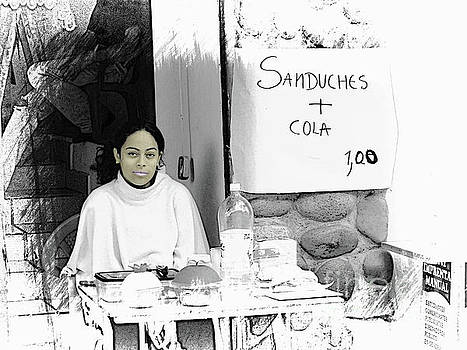 Sandwich and a Drink $1 by Al Bourassa