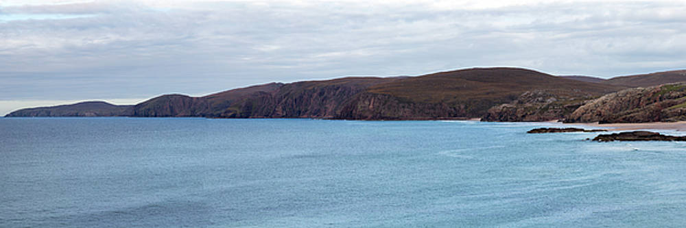 Sandwood Bay and Cape Wrath Panorama by Derek Beattie