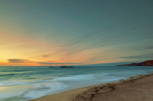 Sandwood Bay at Sunset by Derek Beattie