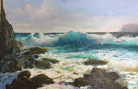Sandy Beach by Ed Furuike