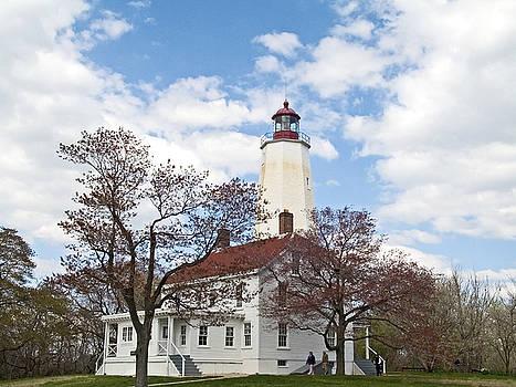 Sandy Hook Lighthouse by Andrew Kazmierski