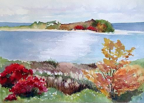 Sandy Point Autumn by Katie Cornog