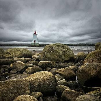 Sandy Point Lighthouse by Christine Sharp