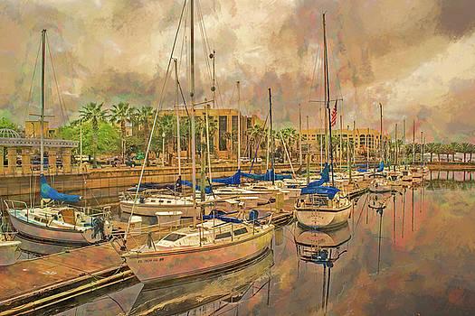 Sanford Sailboats by Lewis Mann