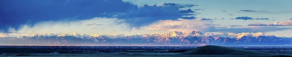 Sangre de Cristo Mountains of Colorado Panorama by John Brink