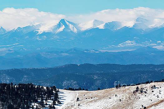Steve Krull - Sangre de Cristo Peaks in Winter