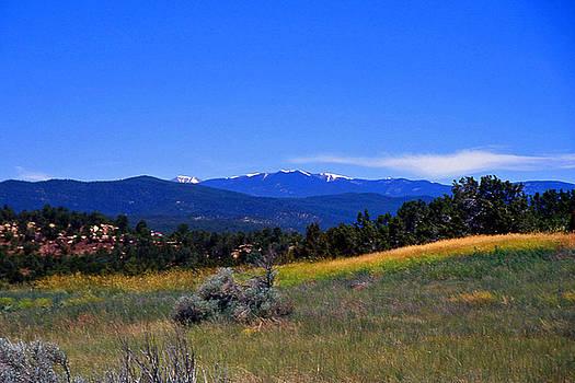 Sangre de Cristos Mountains New Mexico by Randy Muir