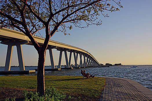 Sanibel Causeway Bridge by Ben Prepelka