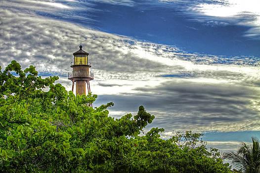 Sanibel Island Lighthouse by Joe Paniccia