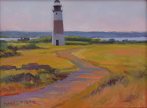 Sankaty Head Lighthouse by Dianne Panarelli Miller