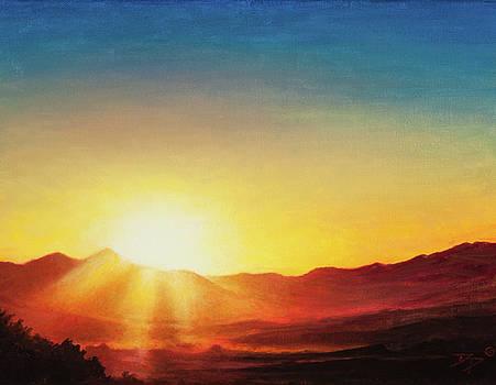 Sanpete Sunset by Dan Price