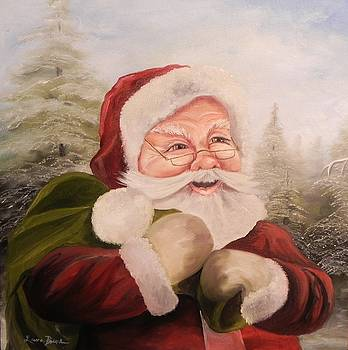 Santa 2015 by Laura Brown