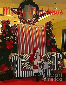John Malone - Santa and Child