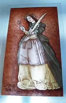 Santa Apolonia by Justyna Pastuszka