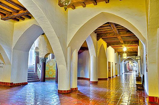 Santa Barbara Courthouse by Eyal Nahmias