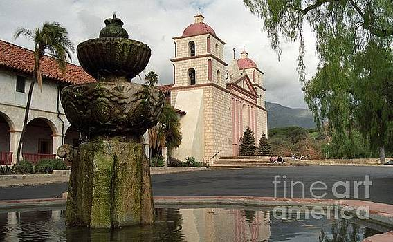 Santa Barbara Mission by James B Toy