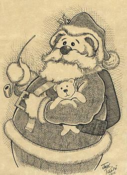 Santa Bear by Jack Puglisi