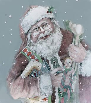 Santa Bearing Gifts by Shane Guinn