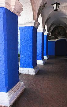 Jonathan Hansen - Santa Catalina Painted Columns