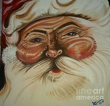 Santa by Christina Little