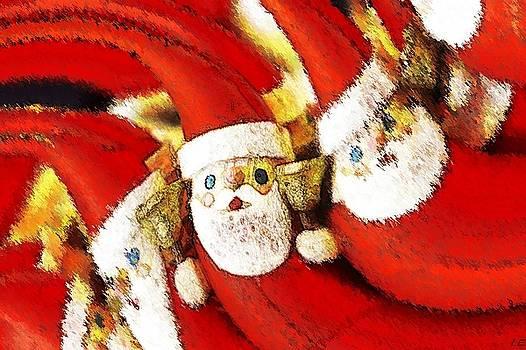 Santa Claus - Christmas card by Ivana  Egic