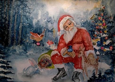 Santa Clause by Shashikanta Parida