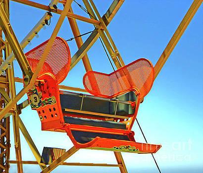 Gregory Dyer - Santa Cruz Boardwalk Ferris Wheel