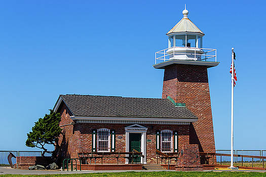 Santa Cruz Lighthouse by Randy Bayne