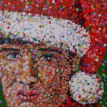 Santa Elvis by Denise Landis