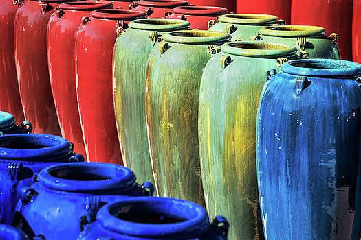 Santa Fe Clay Pots by Steven Bateson