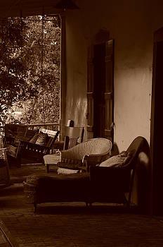 Santa Fe porch by Susie Rieple