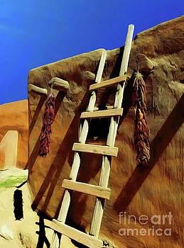 Jon Burch Photography - Adobe Ladder Chili Peppers