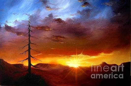 Santa Fe Sunset by Charice Cooper